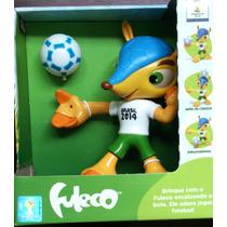 Boneco Fuleco Copa Brasil 2014 (17cm)