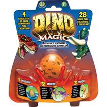 Ovo Mágico Dtc Dino Magic Bonecos De Dinossauro - C/ 4 Ovos!