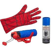 Luva Lançador Teias Ou Água Spider Man Homem Aranha Hasbro