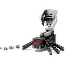 Minecraft Mini Figuras Spider Jockey - Em Estoque No Brasil