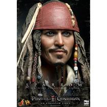 Cabeça Jack Sparrow Hot Toys Promoção!