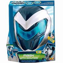 Mascara Max Steel Efeitos Sonoros Frases Brinquedo Menino