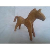 Boneco Playmobil Cavalo Antigo Miniatura
