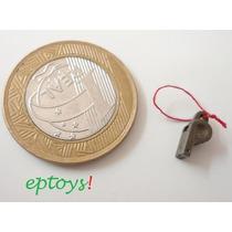 Apito Miniatura P/ Bonecos Hot Toys - 1/6