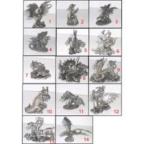 Dragões E Criaturas Fantásticas Miniatura Chumbo Avulsas