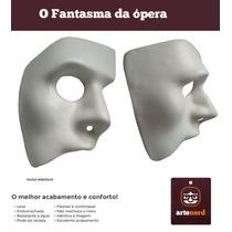 Mascaras Fantasia - Fantasma Da Ópera + Dança & Teatro Eva