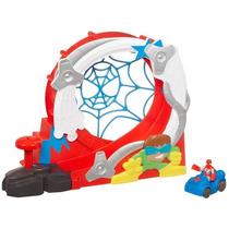 Playset Spider Man Heroes Parque De Diversões Hasbro