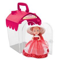 Novo Casa Da Cupcake Surpresa Do Coração Rosa Da Estrela