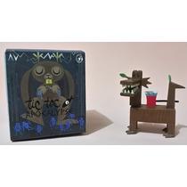 Kidrobot/amanda Visell Tic Toc Apocalypse Series Wood Dragon