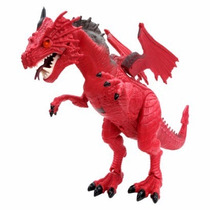 Mighty Megassauros Dragões Dtc 3395 Modelo Dragão Vermelho