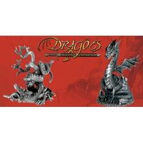 Miniatura Dragões Criaturas Fantásticas-chumbo-deagostini