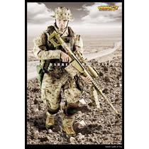 Very Hot 1/6 Usmc Sniper Barrett M82 (boneco Incluso)