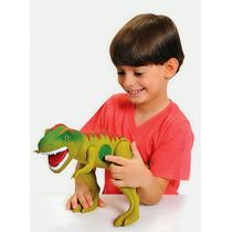 Dinossauro Grande Com Som Tirano Rex Super Promoção!!