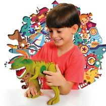 Boneco Dinossauro Tirano Rex - Adijomar Brinquedos