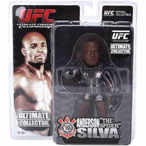 Boneco Ufc Anderson Silva Ultimate Collector Serie A 6101