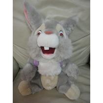 Pelucia Brinquedo Tambor Bambi Original Disney 43cm Coelho
