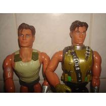 Lote C/ 02 Bonecos Max Steel - Mattel -. R$ 28,00 .