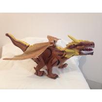 Brinquedo Dragão (bate As Asas E Anda) - 45 Cm