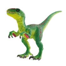 Dinosaur - Schleich Velociraptor Verde Animais Pré-históri