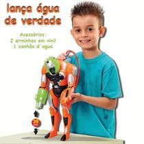Cyborg Acqua Lança Água-adijomar Brinquedos-39 Cm Imperdível