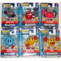 Pac-man And The Ghostly Adventures Kit 6 Bonecos Raridade!