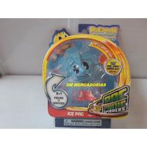 Boneco Pac - Man Pac Panic Spinners Ice Pac - Bandai.