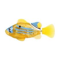 Robô Fish - Dtc - Peixe Amarelo E Azul - Série Neon