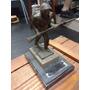 Soldado Infantaria Exercito 16cm Anos 60 De Bronze