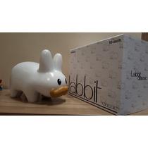 Toy Art Labbit Glossy Branco 10 Inch Kidrobot Frank Kozik