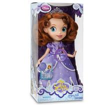 Princesa Sofia Disney Store Boneca Canta Musical 30 Cm