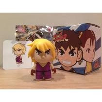 Toy Art Street Fighter Ken Kidrobot Dunny Munny Figura Luta