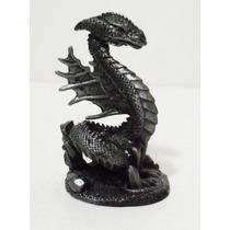 Dragão Miniatura Basilico-escultura - Estatueta Chumbo