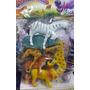 Brinquedo Borracha Animais Da Selva Safari