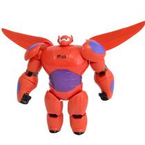 Figura Articulada Baymax Com Armadura 10cm Big Hero - Sunny