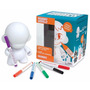 Boneco Toy Art Munny 18 Cm Kidrobot Com 6 Canetas Dunny