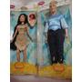 Pocahontas E John Smith Disney Bonecos Articulados 30 Cm