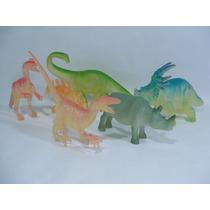 Dissonauros Fosforecentes - Lote 6 Dinossauros