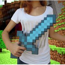 Espada Ou Picareta Minecraft Em Foam