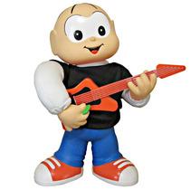 Boneco Cebolinha Guitarrista A Pilha - Grow