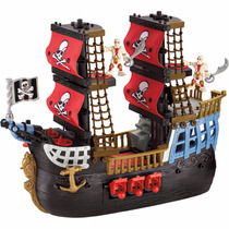 Imaginext Navio Pirata Pesadelo Do Mar - Fisher Price