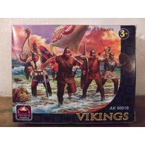 Guerreiros Vikings Brinqtoys Medievais Historicos