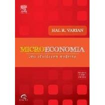 Microeconomia - Uma Abordagem Moderna - 8ª Ed. 2012 Varian,