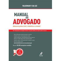Manual Do Advogado - Valdemar P. Da Luz, 2014 Formato: Epub