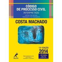 Codigo De Processo Civil Interpretado Artigo Por Artigo, Pa