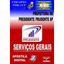 Apostila Pref De Presidente Prudente Sp Servicos Gerais 2015