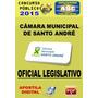 Apostila Camara Mun Santo Andre Oficial Legislativo 2015
