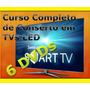 Curso Tv Led Lcd 7 Dvds Video Aulas Apostila Sony