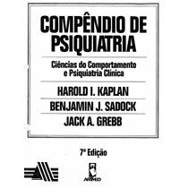 Compêndio De Psiquiatria - Kaplan E Sadok - - Frete Gratis !