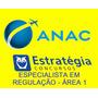 Pós Edital Anac2016 Estratégia Especialista Regulação Área 1