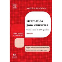 Gramática Para Concursos - Marcelo Rosenthal + Brindes